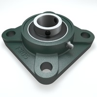 UCF205 Square Flanged Bearing