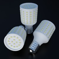 big led light bulb 3d obj