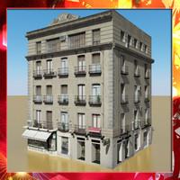 photorealistic building 8 max