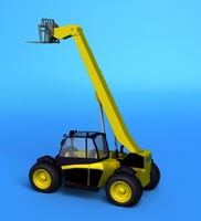 crane vehicle 3d model