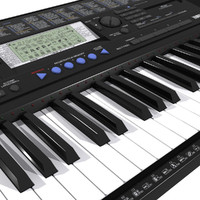 3d model keyboard yamaha psr