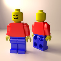 lego minifigure 3ds