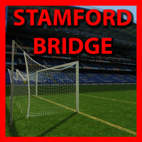 chelsea stamd bridge stadium soccer 3d model
