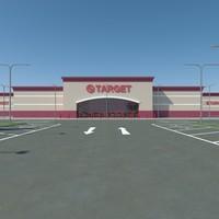 Target with Parkinglot