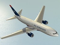 B 767-200 ER US Airways