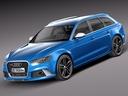 Audi RS6 3D models