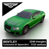 3d 2013 bentley continental gt