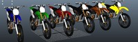 dirt bike crf 3d ma
