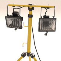 Floodlight - outdoor spread beam lamp