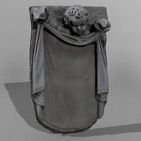 cherub mold 3d model