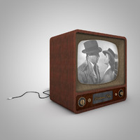 c4d old television