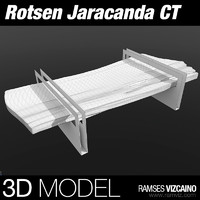 rotsen jaracanda coffe table 3d max