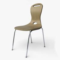 3d model oslo chair design