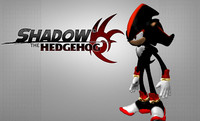 shadow hedgehog 3d obj