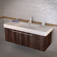 vero sink duravit 3d 3ds