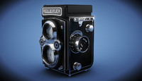 cinema4d rolleiflex camera