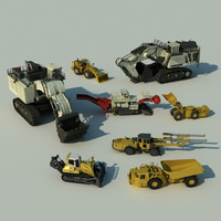 Mining Vehicles Bundle
