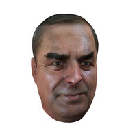 3d real-time head old man