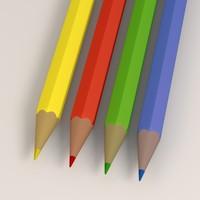3d 3ds pencils
