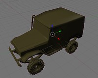 3d model mesh toyota bj40