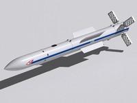 3d rvv-ae missile