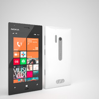3d model nokia lumia 928 smartphone