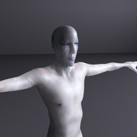 sci-fi character human x