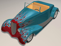 3d 34 roadster hot rod