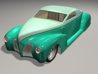 3d max 39 zephyr coupe hot rod