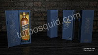 c4d johnnie walker blue label