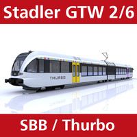 Stadler GTW 2/6 Thurbo