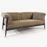 giorgetti - derby sofa chair 3d model