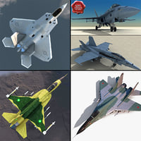 Jet Fighters Collection 4
