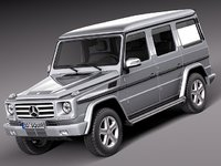 3d mercedes benz g g-class model