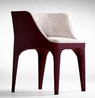 giorgetti diana armchair 3d model