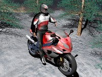 3ds max racer moto
