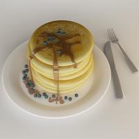 pancake 3d max