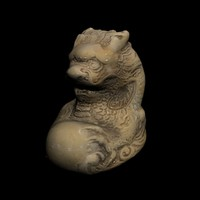 Netsuke Dragon