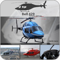 Bell 429 Helicopter Pack