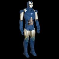 3dsmax robot metal