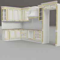 kitchen montecarlo 3d 3ds