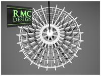 3d chandelier 12 - rmc