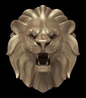 lion s head 3d model