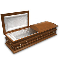 3ds max coffin modeled
