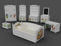 3d nursery kidroom