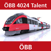 3d talent passenger train Öbb