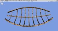 free wreck ship 3d model