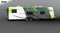 rv trailer 3d max