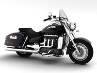 triumph rocket iii touring 3d model