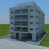 3d model buildings 2 1 3